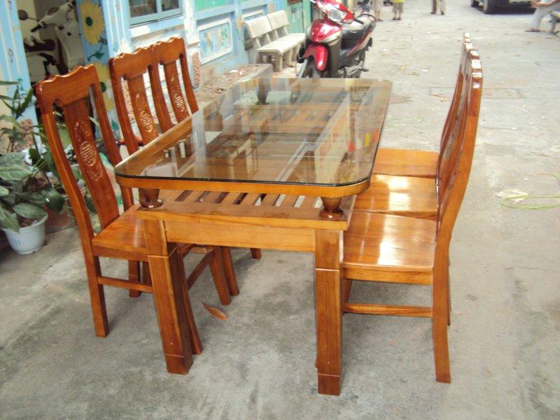 Bộ bàn ăn cũ giá rẻ tại hải phòng - đồ cũ hoàng quỳnh - 0913040613 - docuhaiphong.vn